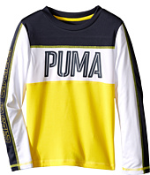 Puma Kids - Block Long Sleeve Top (Little Kids)