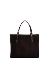 Frances Valentine - Perforated Suede Tote