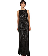 Adrianna Papell - Sleeveless Cable Sequin Gown