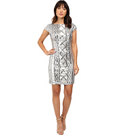 Adrianna Papell - Cap Sleeve Cable Sequin Dress