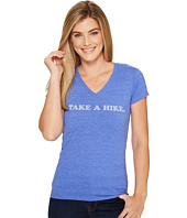 The North Face - Short Sleeve Take a Hike V-Neck Tri-Blend Tee