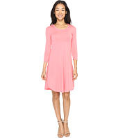 Mod-o-doc - Cotton Modal Spandex Jersey Crescent Empire Seam Dress