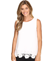 Calvin Klein - Sleeveless Top w/ Lace Bottom