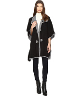 Christin Michaels - Armelle Poncho with Buttons