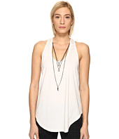 The Kooples - Mix Cotton & Charms Tank Top
