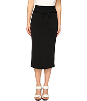 The Kooples - Sport Cupro Fleece Skirt