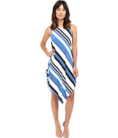 Christin Michaels - Lina Asymmetrical Tank Maxi Dress