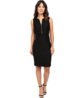 Calvin Klein - Lace Sheath Dress w/ Zipper