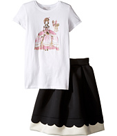 fiveloaves twofish - Marie Anotinette Set w/ Scuba Skirt (Little Kids/Big Kids)