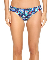 Tommy Bahama - Folk Floral Side-Shirred Hipster Bikini Bottom
