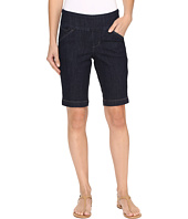 Jag Jeans - Ainsley Pull-On Bermuda Comfort Denim in Dark Shadow