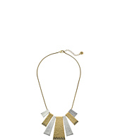House of Harlow 1960 - Golden Scutum Statement Necklace