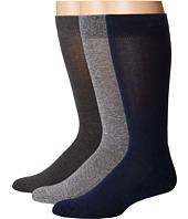 HUE - Marled Sock with Half Cushion 3-Pack