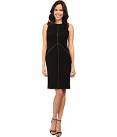 Calvin Klein - Sheath Dress with Zipper Detail CD6X1263