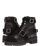 The Kooples - Mix Smooth and Suede Leather