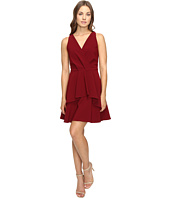 Adelyn Rae - Fit and Flare Dress with Front Ruffle