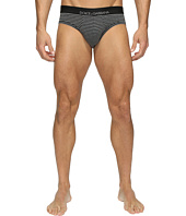 Dolce & Gabbana - Grey Stripes Stretch Cotton Midi Briefs