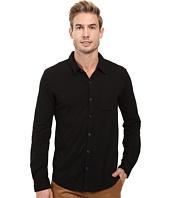 Mod-o-doc - Summerland Knit Long Sleeve Jersey Button Front Shirt