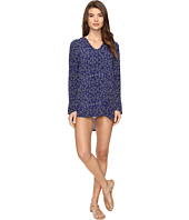 Splendid - Deckhouse Geo Tunic Hoodie Cover-Up