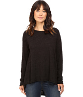 HEATHER - Cotton Long Sleeve Swing Top
