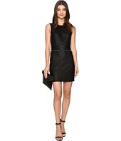 ONLY - Celina Faux Leather Biker Dress