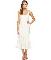 JILL JILL STUART - Scoop Neck Pleated Elastane Mermaid Dress