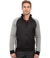 Kenneth Cole Sportswear - Full Zip w/ Nylon Quilted Front
