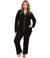 Cosabella - Plus Size Bella PJ Long Sleeve Top and Pants PJ Set