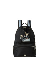 Dolce & Gabbana - Nylon Embroidered Backpack