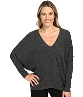 HEATHER - Long Sleeve Slouchy Wedge Top