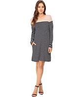 Culture Phit - Jamari Color Block Long Sleeve Dress