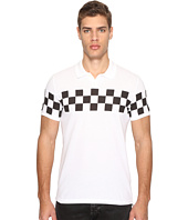 DSQUARED2 - Military Glam Checkerboard Polo