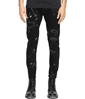 DSQUARED2 - Five-Pocket Acid Black Wash Jeans
