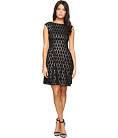 Vince Camuto - Extended Cap Fit and Flare Dress