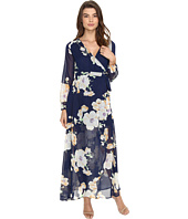 Brigitte Bailey - Tilda Floral Print Maxi Wrap Dress