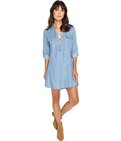 Brigitte Bailey - Zoe Long Sleeve Lace-Up Dress