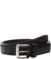 John Varvatos - Genuine Leather Croco Belt