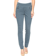Jag Jeans Petite - Petite Nora Pull-On Skinny Freedom Colored Knit Denim in Opal