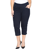 Jag Jeans Plus Size - Plus Size Marion Pull-On Crop in Comfort Denim in After Midnight