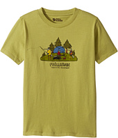 Fjällräven Kids - Camping Foxes T-Shirt (Toddler/Little Kids/Big Kids)