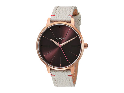 Nixon The Kensington Leather X The Mahogany Rose Collection