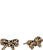 Marc Jacobs - Bow Pave Twisted Studs Earrings