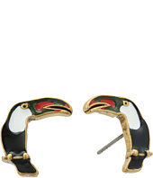 Marc Jacobs - Charms Tropical Toucan Studs Earrings