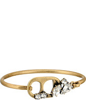 Marc Jacobs - Safety Pin Soda Lid Hinge Cuff Bracelet