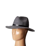 Karen Kane - Tweed Braid Fedora Hat