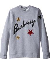 Burberry Kids - Star Long Sleeve Top (Little Kids/Big Kids)
