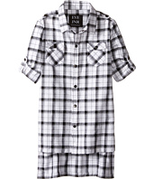 eve jnr - Oversize Button Up Tunic Shirt (Little Kids/Big Kids)