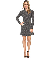 MICHAEL Michael Kors - Norfolk Long Sleeve Flare Dress