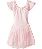 Capezio Kids - Flutter Sleeve Dress (Toddler/Little Kids/Big Kids)