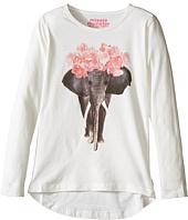 Munster Kids - Ivory Long Sleeve T-Shirt (Toddler/Little Kids/Big Kids)